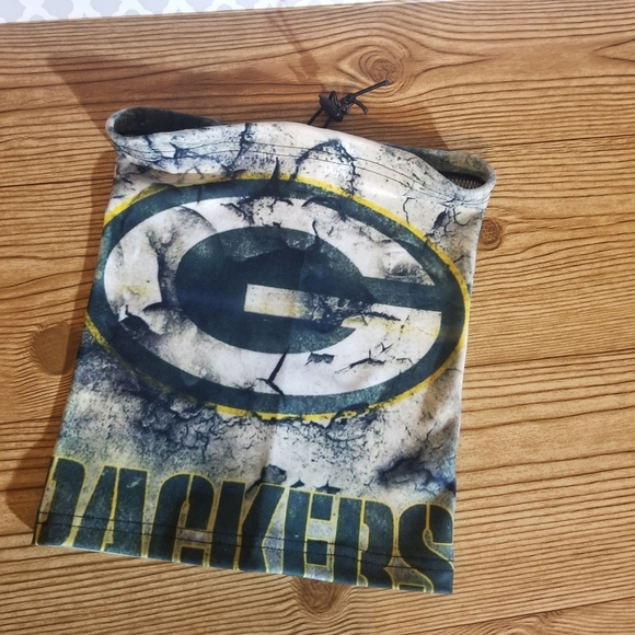 NFL Green Bay Packers Face Shield.  Adjustable